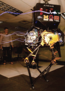 ATRIAS: Design and validation of a tether-free 3D-capable spring-mass bipedal robot